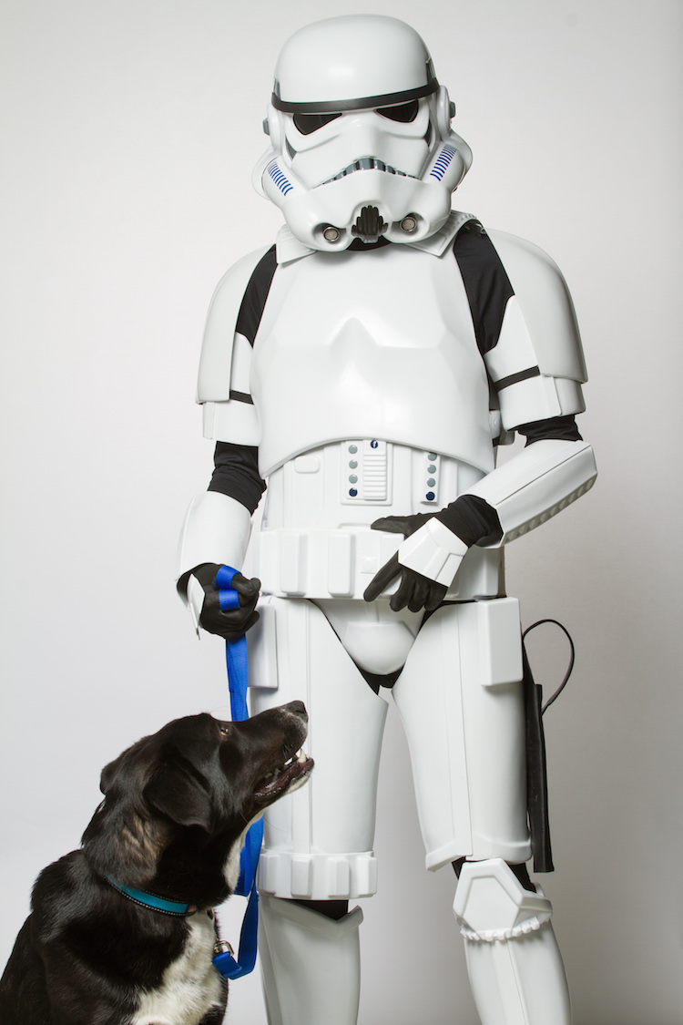 Storm Trooper with Dog