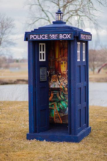 TARDIS - Door Open