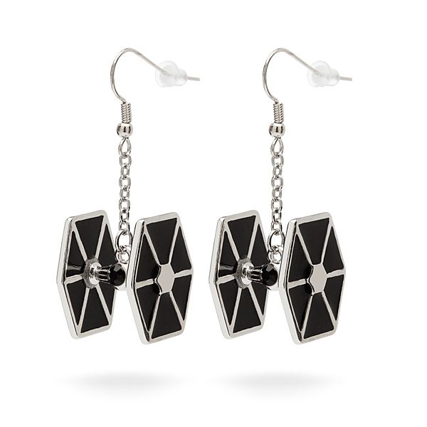 Tie Fighter Earrings