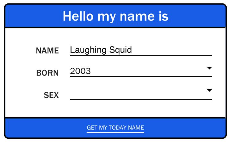 Today Name Screenshot