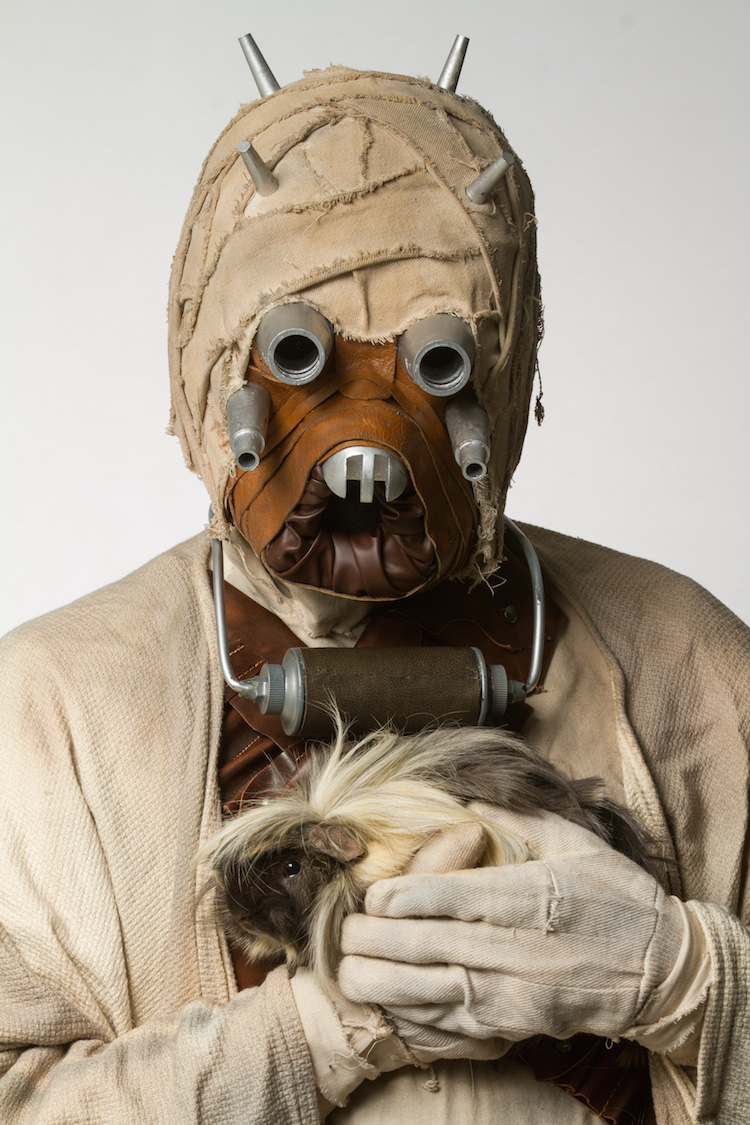 Tusken Raider with Guinea Pig