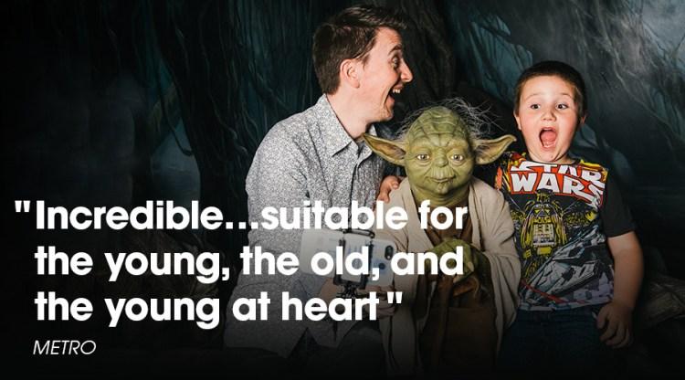 Tussaud Star Wars Yoda