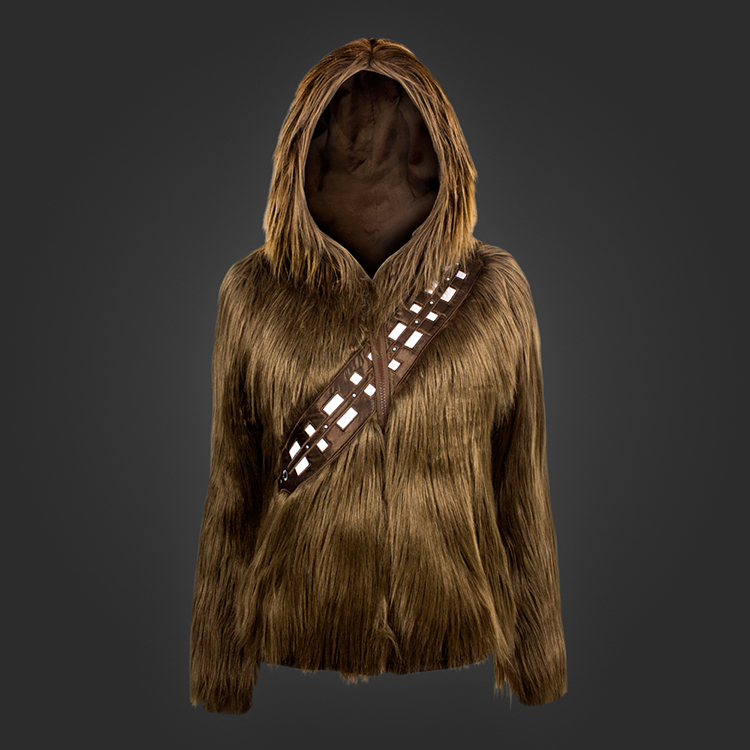 'I Am Chewie', A Furry 'Star Wars' Hoodie That Makes the Wearer Look Like Chewbacca