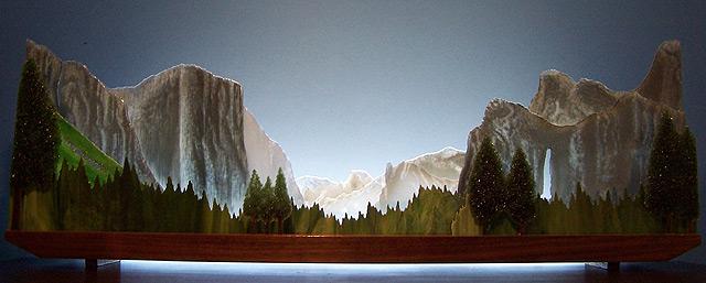Yosemite Panorama Blue