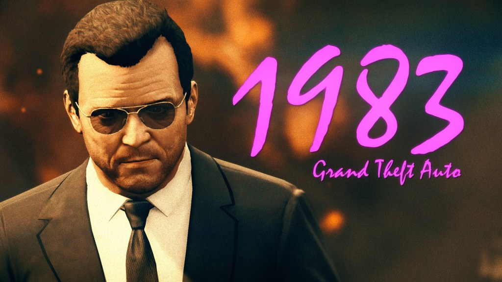 A 1980s Trailer for the Video Game 'Grand Theft Auto V' Featuring Lovely VHS Footage