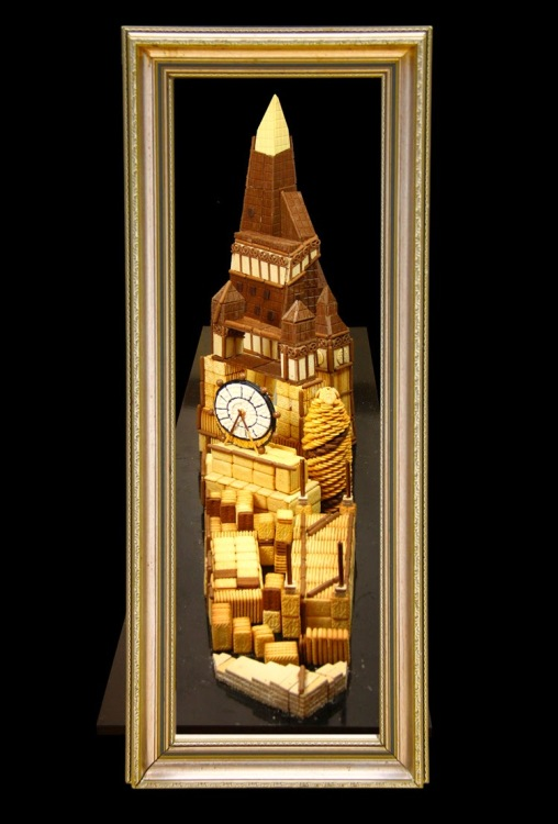 Big Ben sugar art