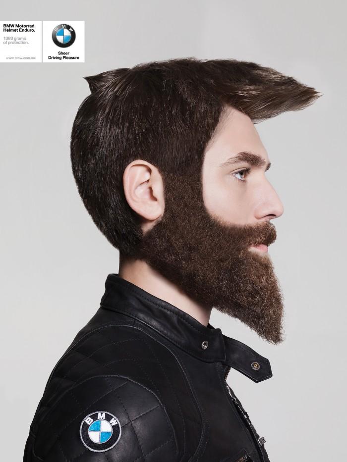 bmw helmet hair 3