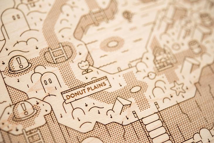 Dinosaur Land Map