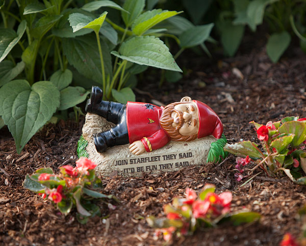 Star Trek Garden Gnomes