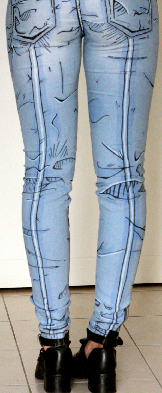 Cartoony, Cel-Shaded Jeans Based on the Unique Art Style ...
