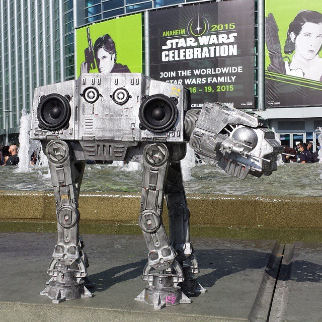 AT-BT (All Terrain Beats Transport) Boombox