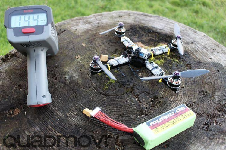High Performance Quadcopter by quadmovr