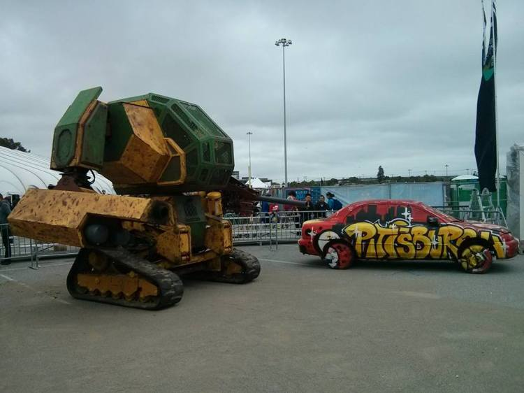 megabot at makerfaire 1