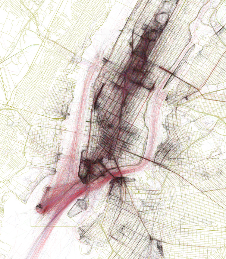 The Geotagger's World Atlas, An Interactive Map That Visualizes Geotagged Flickr Photos