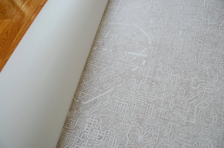Super Detailed Maze Drawing
