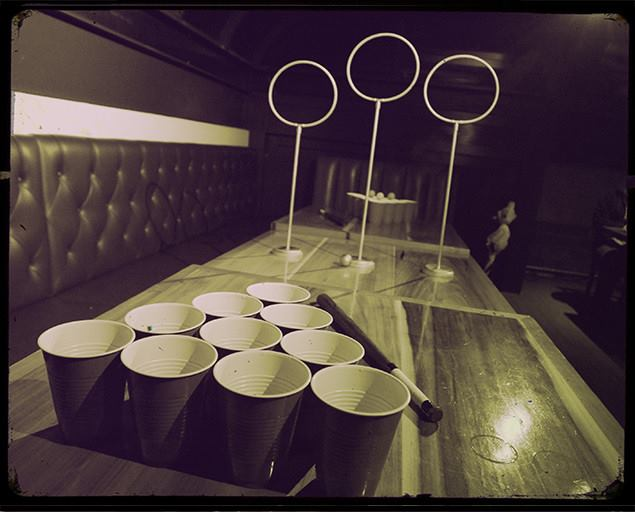 quidditch beer pong set 4