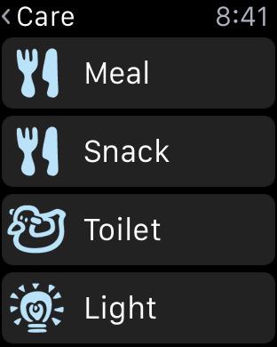 Tamagotchi Apple Watch screenshot