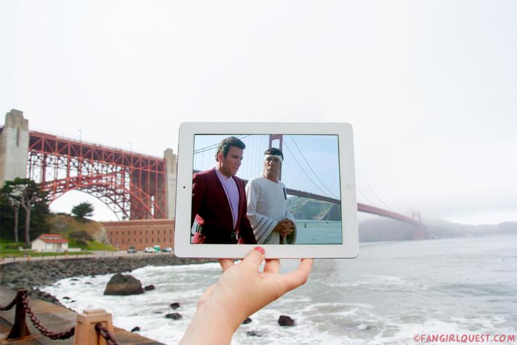 Star Trek at the Golden Gate Bridge in San Francisco