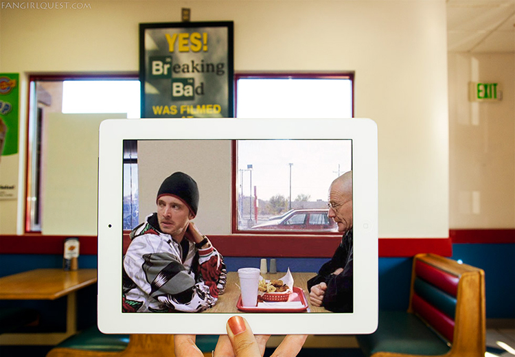Breaking Bad at Twisters in Albuquerque