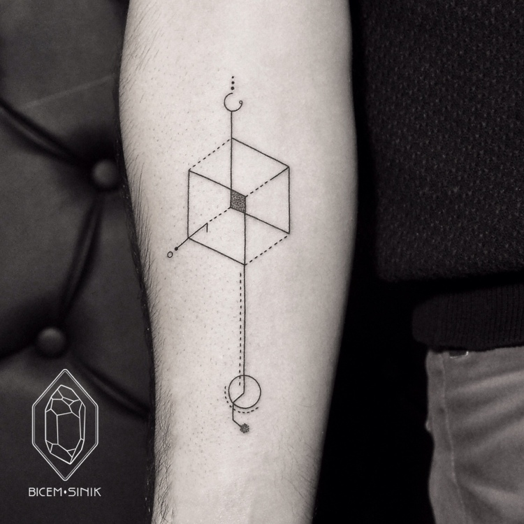 geometric tattoo2 by Bicem Sinik