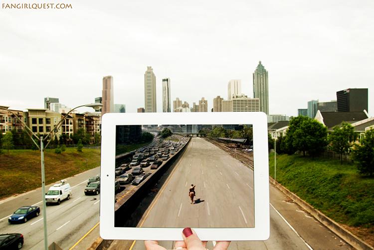 The Walking Dead in Atlanta
