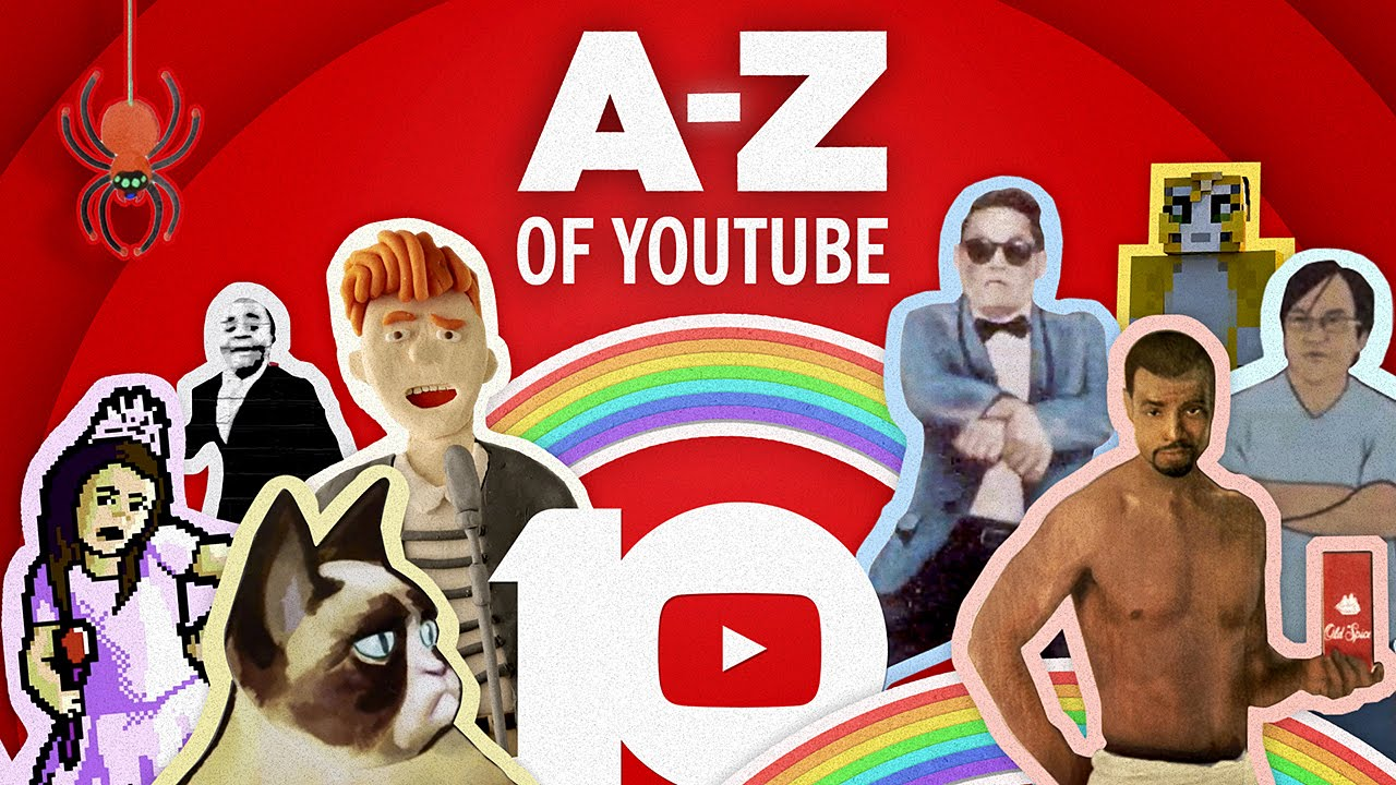 YouTube Celebrates 10 Years of Videos With an Exceedingly Charming Compilation From A to Z