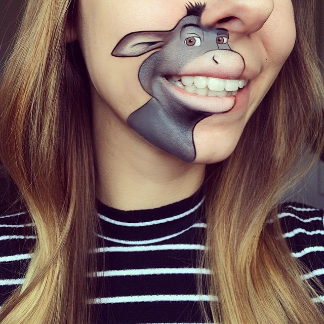 Makeup Artist Laura Jenkinson Recreates A New Series Of Popular - Laura jenkinson mouth painting