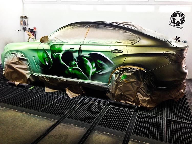 BMW X6 Hulk