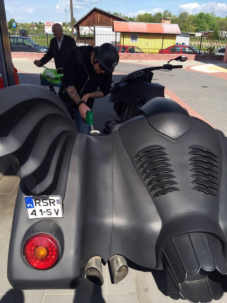 Custom Batmobile Trike