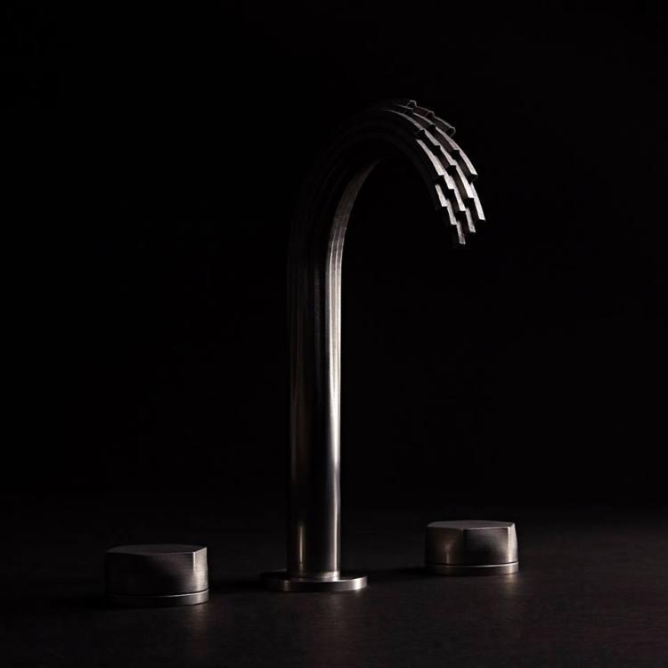 Luxury 3d-Printed waterfall faucet