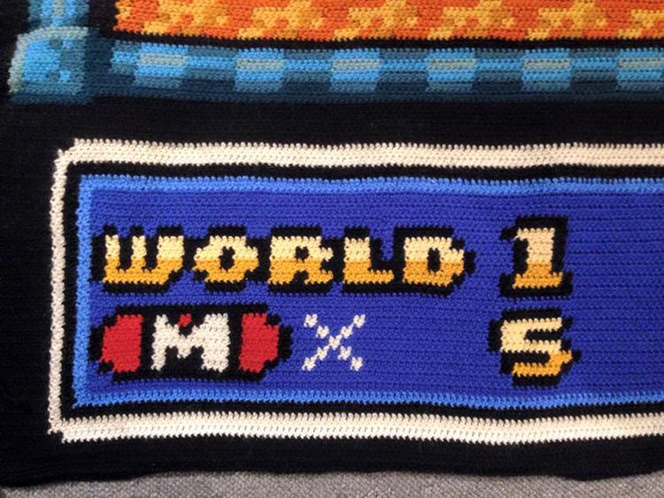 Super Mario Bros 3 Blanket
