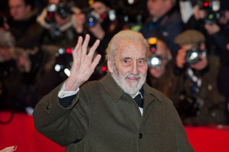Sir Christopher Lee at 62nd Berlin Film Festival