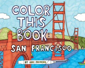 Color This Book Abbi Jacobson Of Broad City Publishes