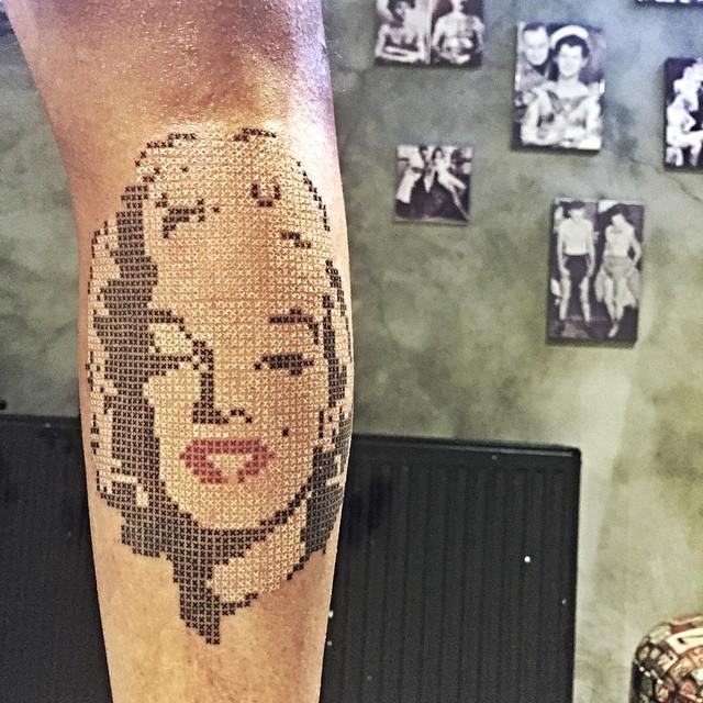 Cross Stitch Marilyn