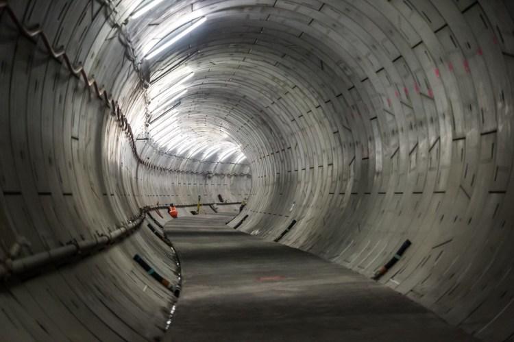 Crossrail Thames Tunnel