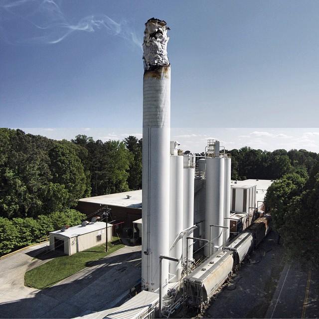 Factory + Cigarette