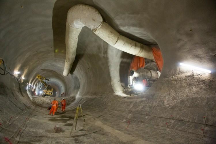 Farringdon Tunnel