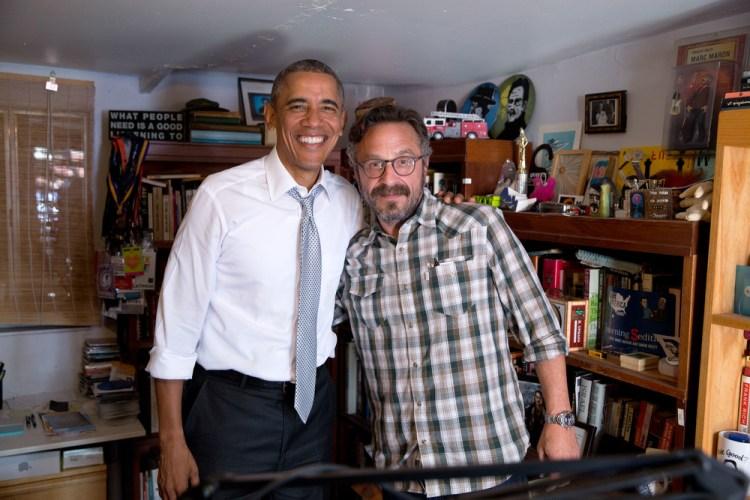 Maron and Obama 2