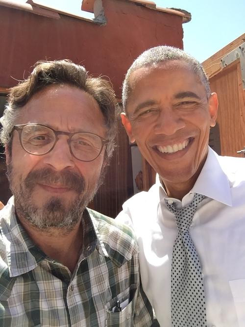 Maron and Obama 3