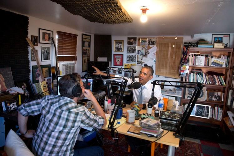 Maron and Obama