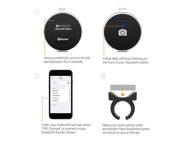 Satechi Bluetooth Camera Button 5