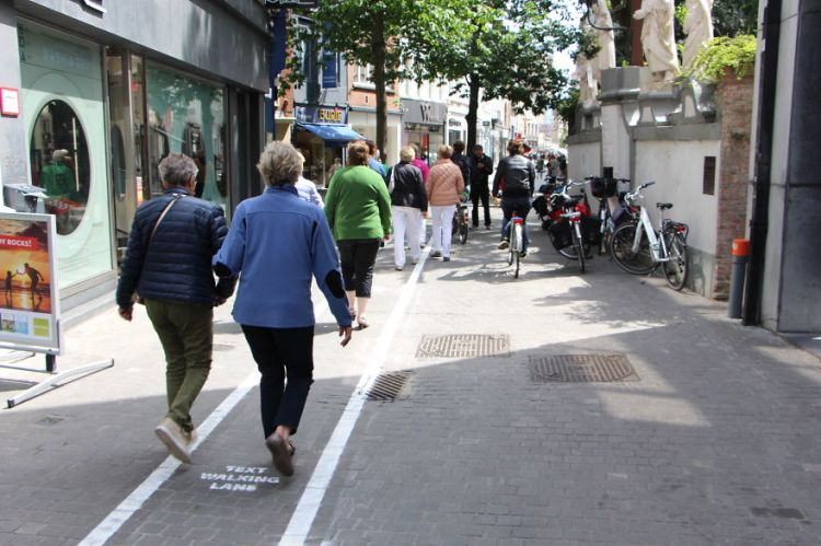 Text Walking Lane 3