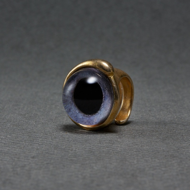 Violet Eye Small Ring