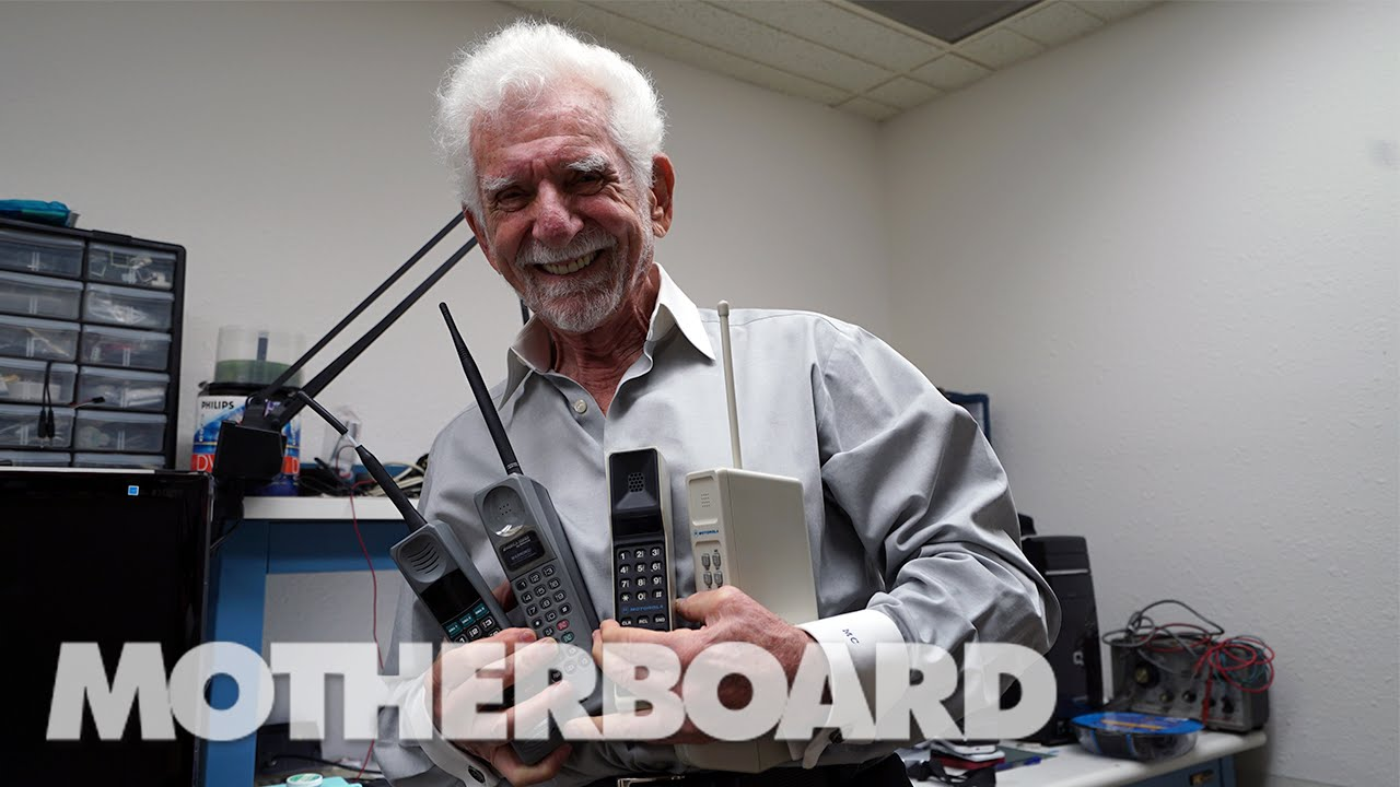 a fascinating interview martin cooper father of the cell phone