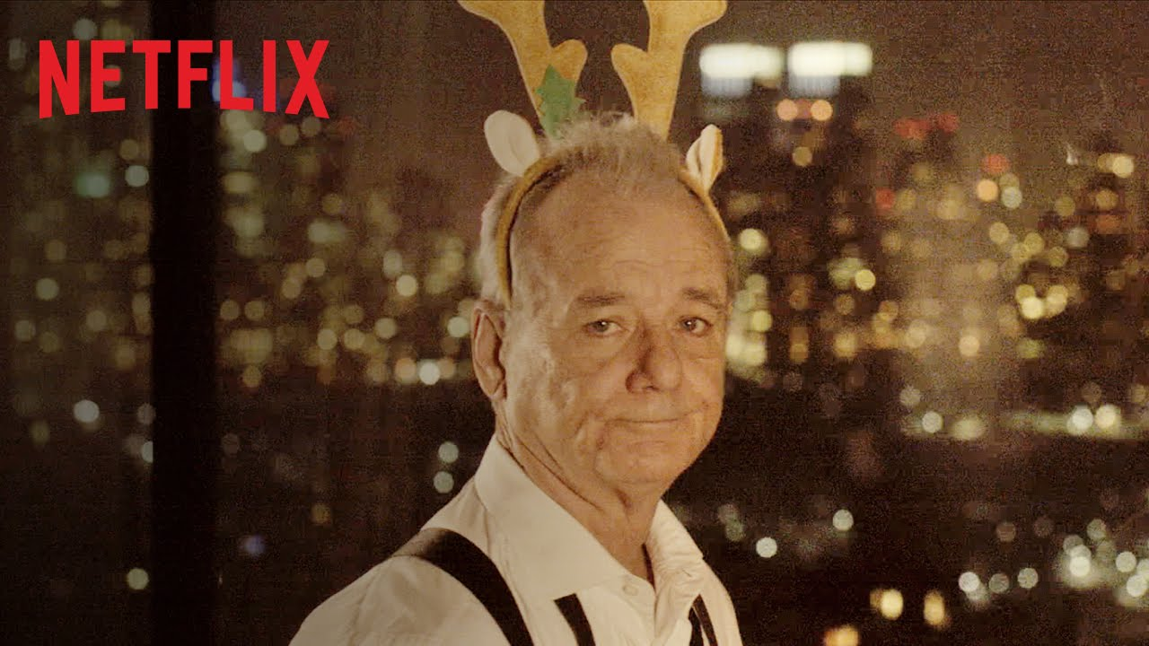 Bill Murray Dons Reindeer Antlers in a Teaser for His Upcoming ...