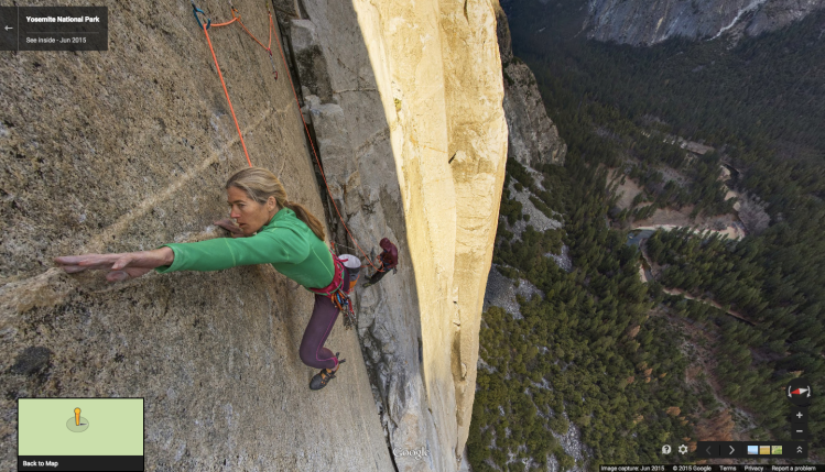 Google Street View El Capitan