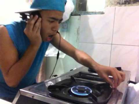 Filipino DJ Hilariously Mixes Serious Beats on a Gas Stove
