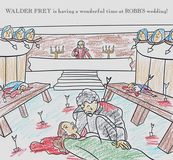 Artist Imagines Pages for George R.R. Martin\'s Actual Upcoming Adult ...