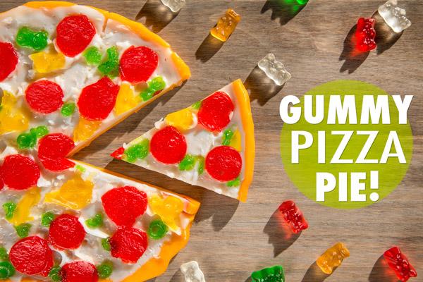 Gummy Pizza Pie