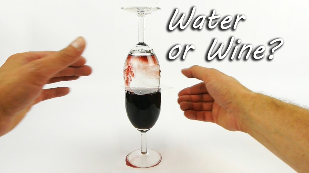 'How to Turn Water Into Wine', A Clever Demonstration in Liquid Density